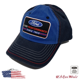 Ford Basecap - Ford Performance Logo - since 1903 - Blau/Navy