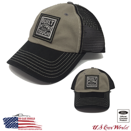 Ford Basecap - Ford Trucks Cap - Ford Built Tough - Mesh - Schwarz/Grau