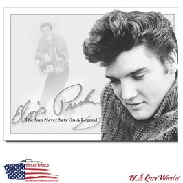 """Blechschild """"Elvis - Sun Never Sets"""""""