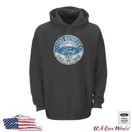 Ford V8 Hoody - Ford Kapuzenpullover mit Ford V8 Logo - since 1903