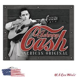 "Blechschild ""Johnny Cash - American Original"""