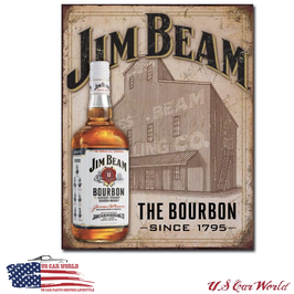 "Blechschild ""Jim Beam - Still House """