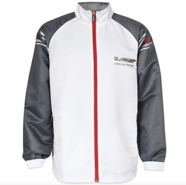 Cadillac Racing Jacke in Custom Look - Weiß - lizensiert