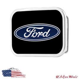 Ford Buckle - Gürtelschnalle - Ford Blue Oval Logo