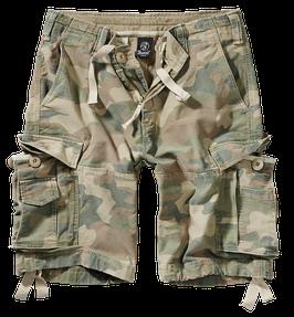 Brandit Vintage Classic Shorts - Cargo Shorts - Light Woodland (107)