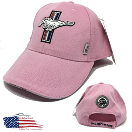 #HH090-PNK - Ford Mustang Ladies Basecap - Pink