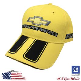 Camaro Basecap mit Bowtie - Super Sport - Bumble Bee - Gelb/Schwarz
