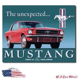 """Ford Mustang Blechschild """"since 1964"""""""
