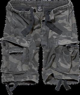 Brandit Vintage Classic Shorts - Cargo Shorts - Darkcamo (4)