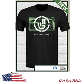 Jeep Wrangler T-Shirt - It's a Jeep Thing - Schwarz
