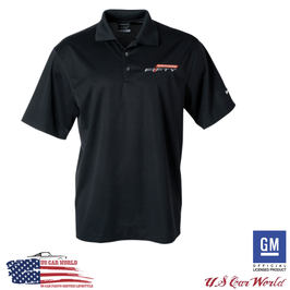Camaro Fifty Performance Logo Poloshirt - Nike Performance Polo - Schwarz - SALE
