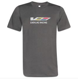 Cadillac Racing T-Shirt - V-Series Cadillac Racing - Grau - lizensiert