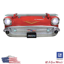 Chevrolet Bel Air Front 3D Wandregal mit Beleuchtung