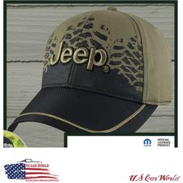 Jeep Basecap - Jeep Logo - Carbon Style - Oliv