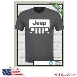 Jeep Logo T-Shirt - Jeep Classic Logo Motiv - Oliv