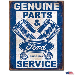 "Ford Blechschild ""Ford Parts"""