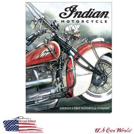 """Blechschild """"Indian - America's Pioneer"""""""