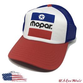Mopar Basecap - Mopar Logo Cap - Mopar Classic - Blau/Rot/Weiß