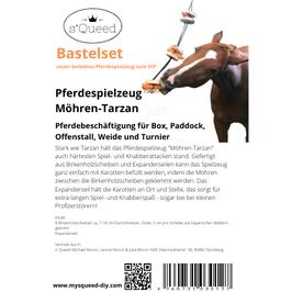 Pferdespielzeug Möhren-Tarzan Bastelset DIY