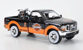 Art.Nr. 16.368 Ford + Harley Davidson F1 Pickup FLH Duo Glide 1:24