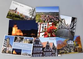Post- und Grußkartenset Homberg
