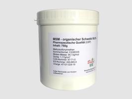 MSM - organischer Schwefel 99,9% Reinheit