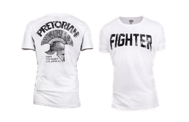 Tee Shirt FIGHTER White