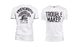 Tee Shirt TROUBLE MAKER White