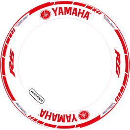 RACEBIKE WHEEL SET Yamaha Racing Rot