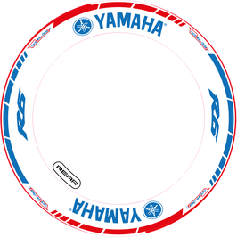RACEBIKE WHEEL SET Yamaha Racing Blau
