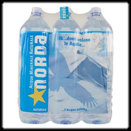 NORDA150  NATURALE fonte AcquaChiara residuo fisso 144