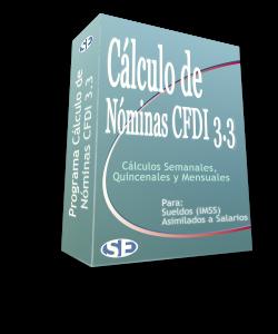 Programa Cálculo de Nóminas CFDI 3.3