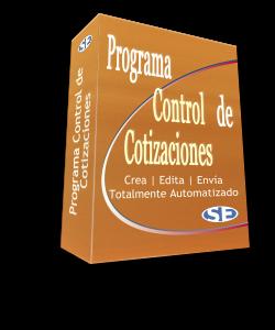 Programa Control de Cotizaciones
