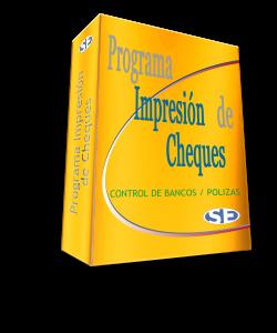 Programa Control e Impresión de Cheques