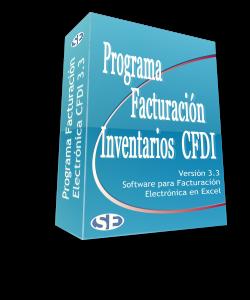 Programa Facturacion CFDI 3.3 con Control de Inventarios