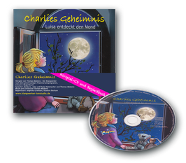 Charlies Geheimnis - Buch und Hörspiel-CD