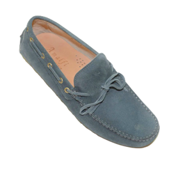 Gommini In Jeans Suede with laces