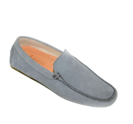 Loafers In Jeans Suede