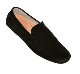 Loafers In Black Suede