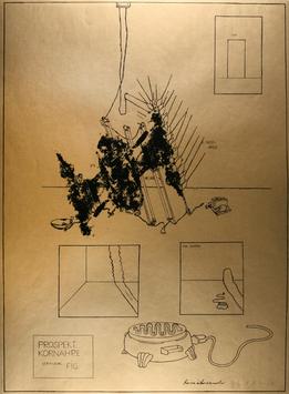 Edition: Gironcoli (Bruno Gironcoli - Prospekt: Kornähre, Veränderl. FIG.) 1973.