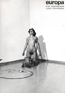 europa  III 10 (Magazin:  Europa arte informazione - Marina Abramovic) 1975.
