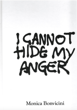 Bonvicini (Monica Bonvicini - I Cannot Hide My Anger) 2019.