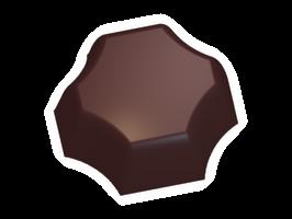 Moule chocolat bonbon cross