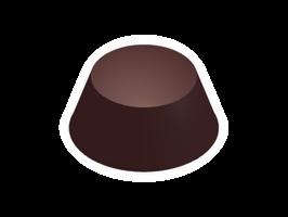 Moule chocolat bonbon dôme