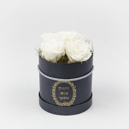 Rosenbox mit 5 Rosen