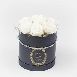 Rosenbox mit 8 Rosen