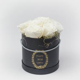 Rosenbox mit 9 Rosen