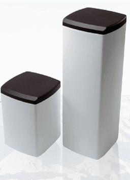 Bac à sel pour adoucisseur avec couvercle - 75 Litres