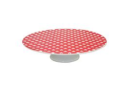 Krasilnikoff Tortenplatte Star rot