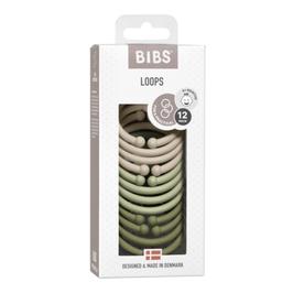 BIBS Loops - Vanilla / Sage / Olive
